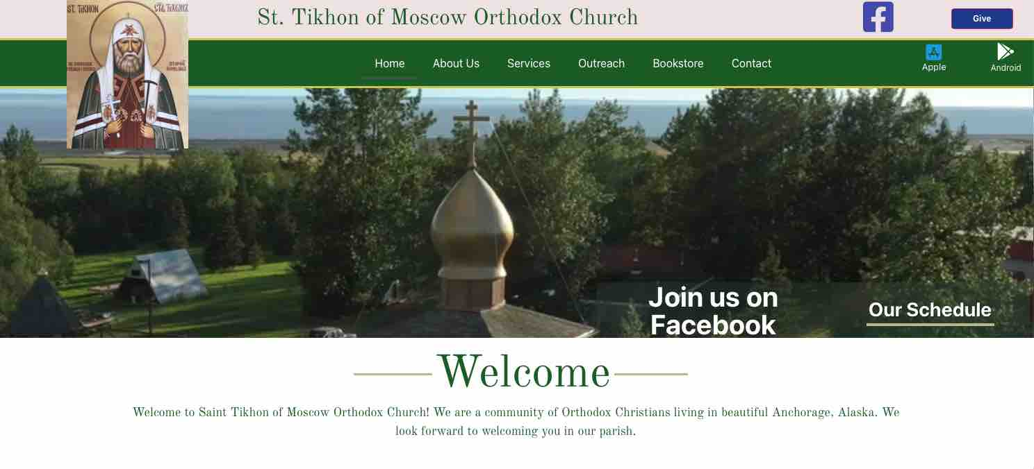 St. tikhon of Moscow orthodox church